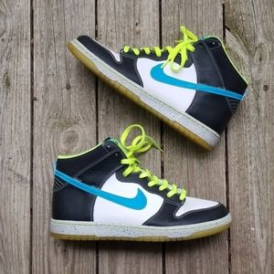 Nike Dunk Hi AS Premium Blue Glow Black